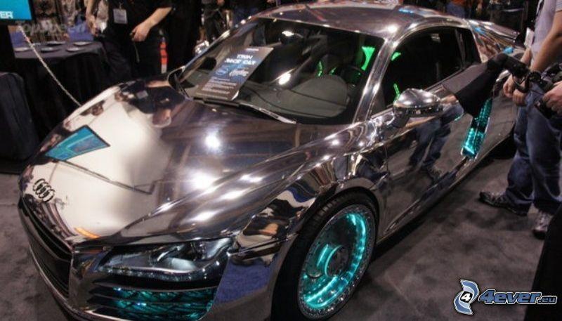 Audi R8, chrom