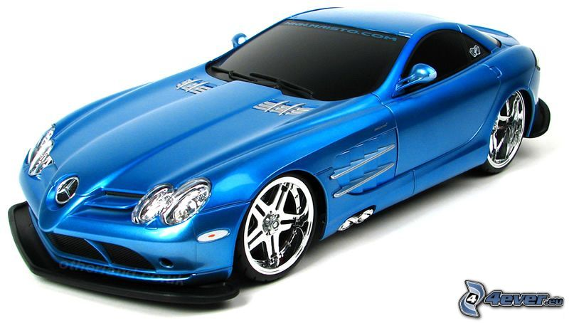 Mercedes, virtual tuning