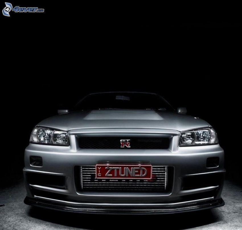 Nissan Skyline GT-R, przednia maska