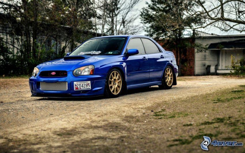 Subaru Impreza WRX STi, tuning, lowrider