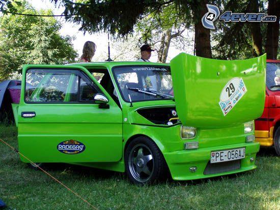 tuning, Fiat, samochód