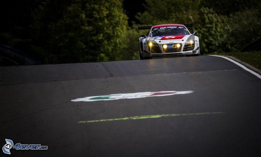 Audi R8, wyścigi, torowe