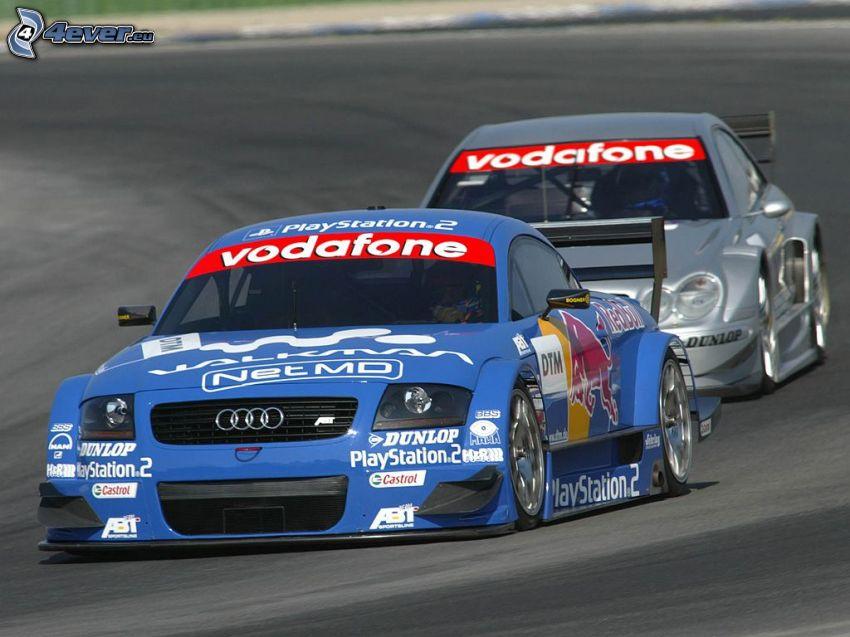 Audi TT, wyścigi, samochód