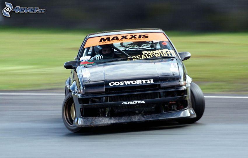 auta wyścigowe, dryfować, prędkość