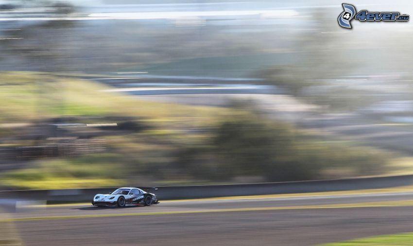 auta wyścigowe, prędkość