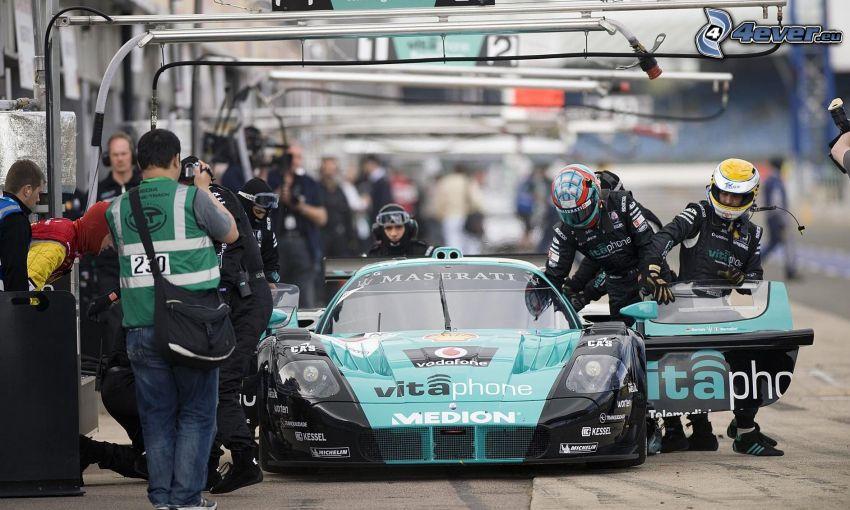 auta wyścigowe, zawodnicy