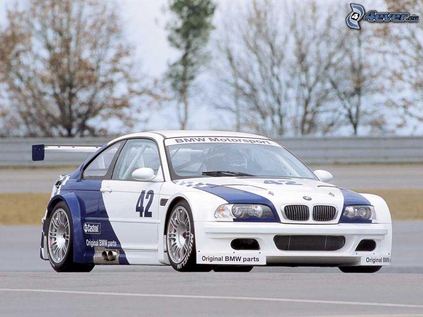 BMW M3 GTR, rajd