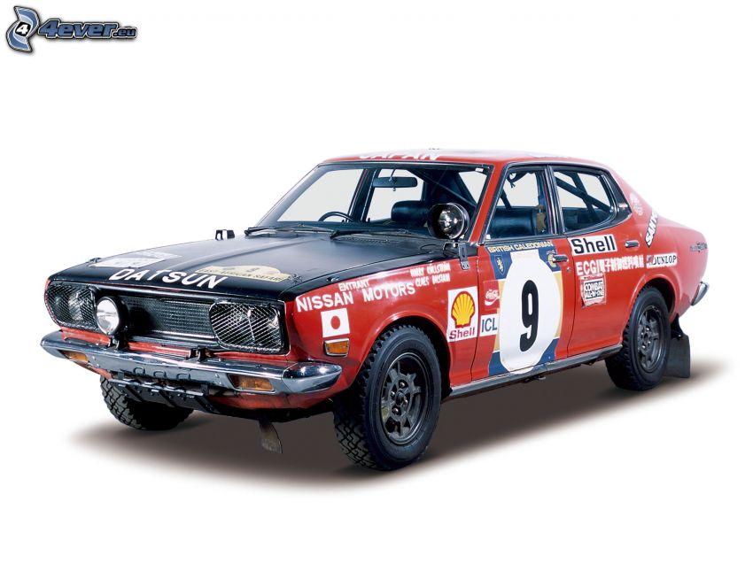 Datsun 510, auta wyścigowe, weteran
