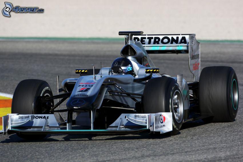 Mercedes GP, Monoposto, wyścigi, torowe