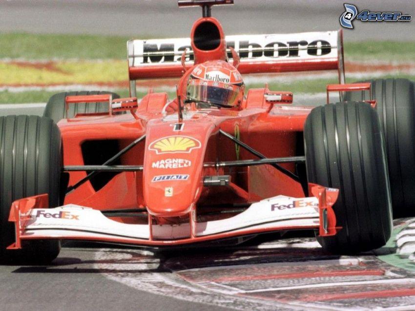 Michael Schumacher, Formuła 1, Ferrari