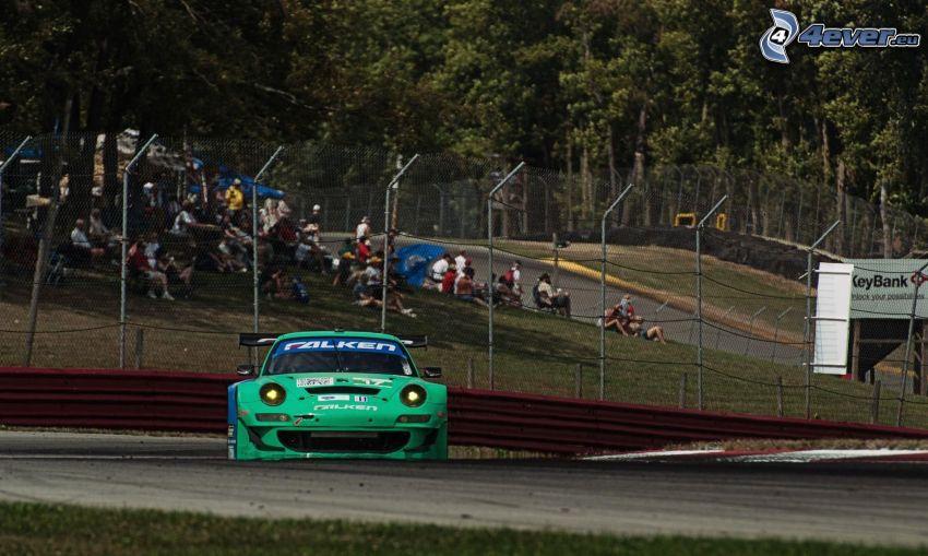 Porsche, auta wyścigowe, wyścigi, torowe