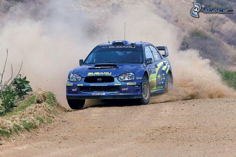 Subaru, wyścigi