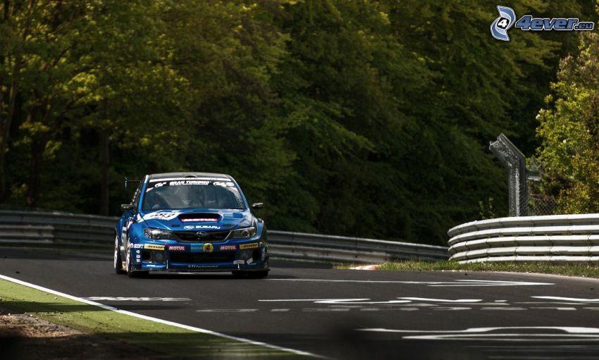 Subaru Impreza, wyścigi, torowe