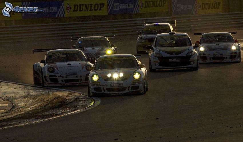 wyścigi, auta wyścigowe, wyścigi, torowe