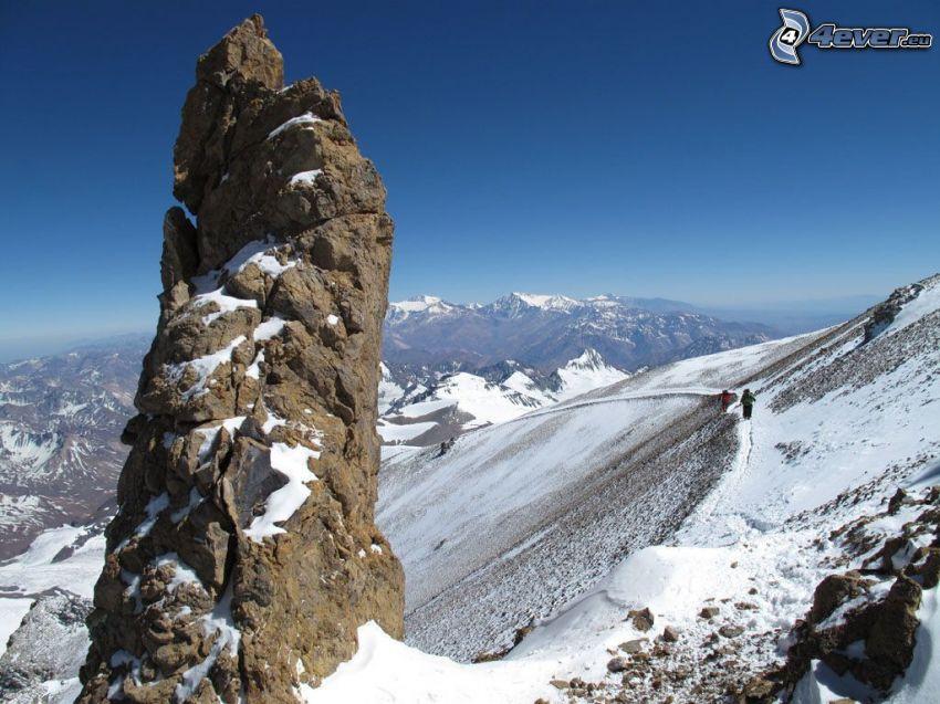 Aconcagua, zaśnieżone góry