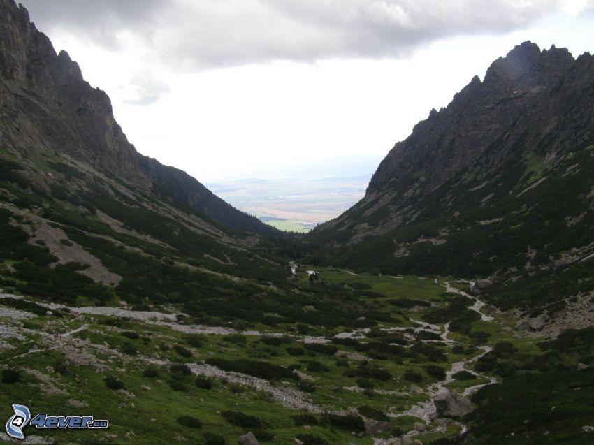 dolina, góry