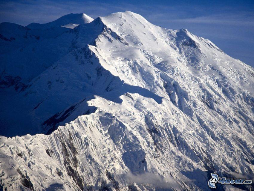 Mount McKinley, Alaska, śnieg, wzgórze