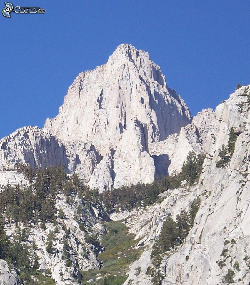 Mount Whitney, góry skaliste