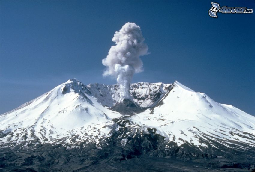 Saint Helens, wulkan, chmura wulkaniczna