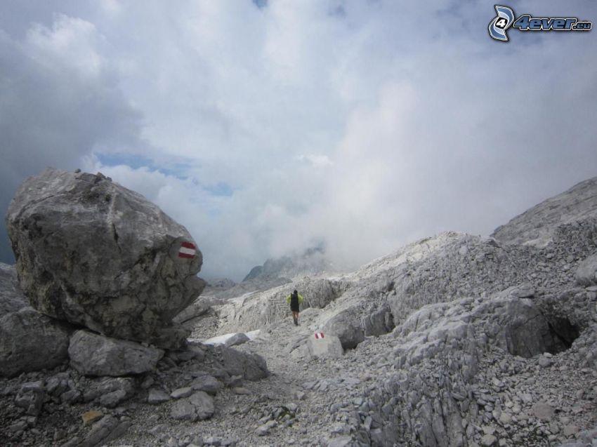 Totes Gebirge, skały