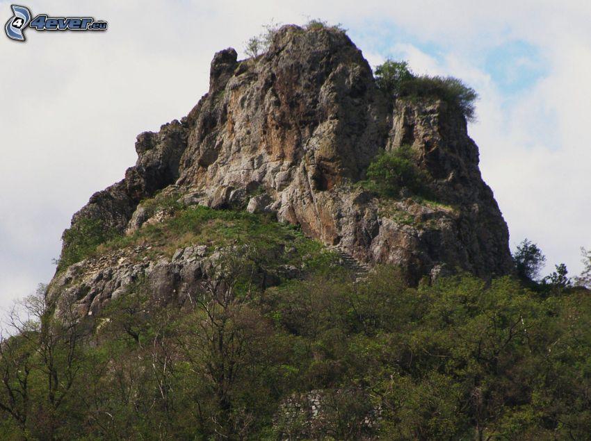 wzgóże ze skały, Hajnáčka