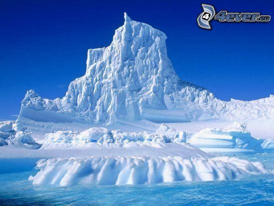 krajobraz, lód