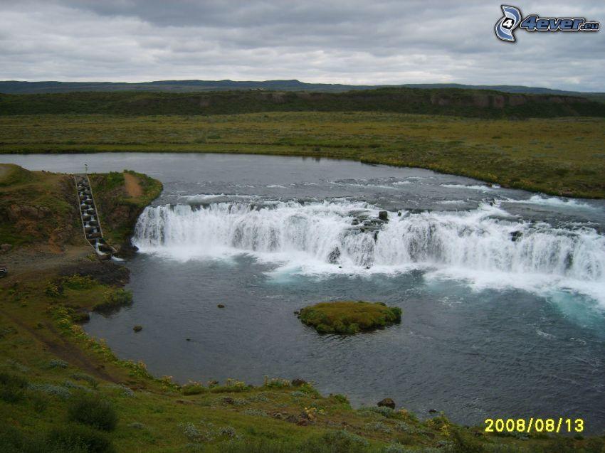 wodospady, krajobraz