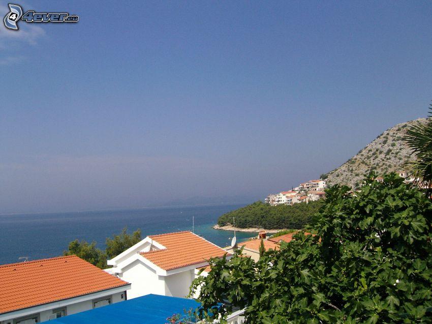 Chorwacja, widok na morze, wybrzeże