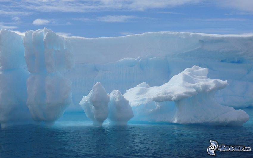 lodowce, morze