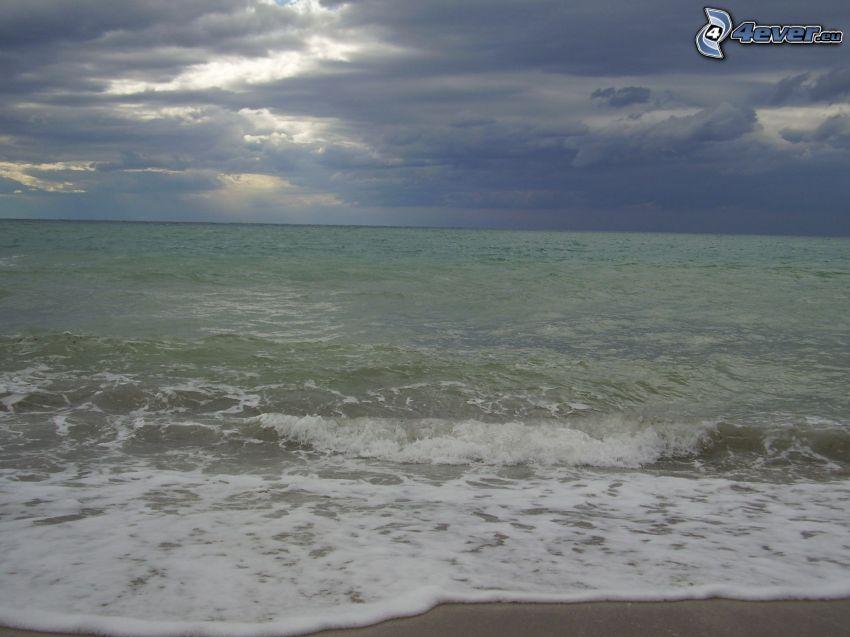 morze, niebo