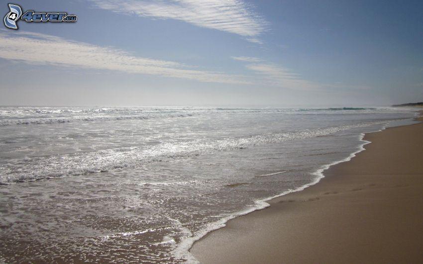 morze, plaża piaszczysta