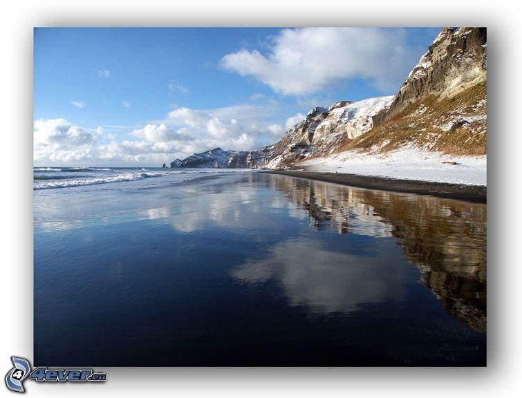 woda, niebo, wybrzeże