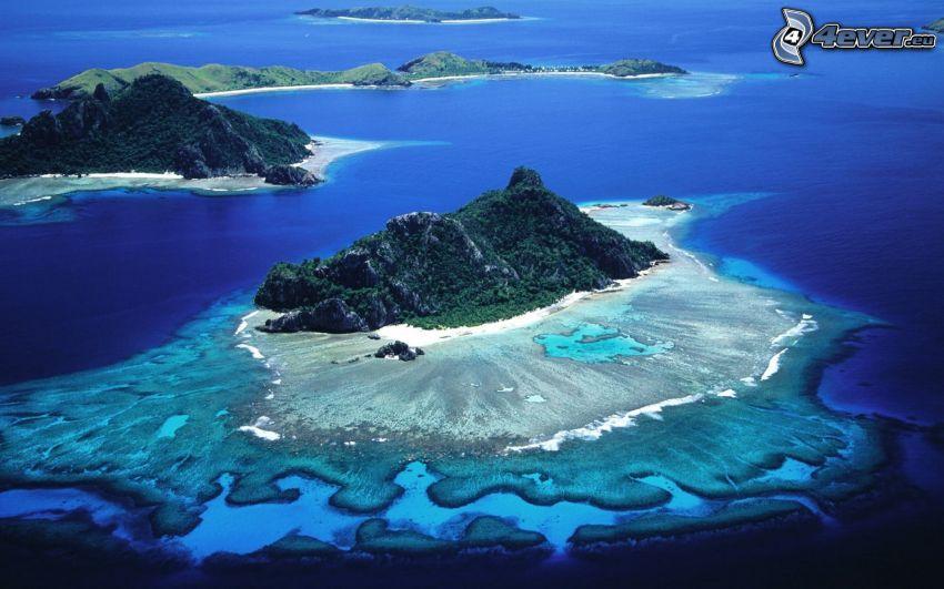Wyspy, morze