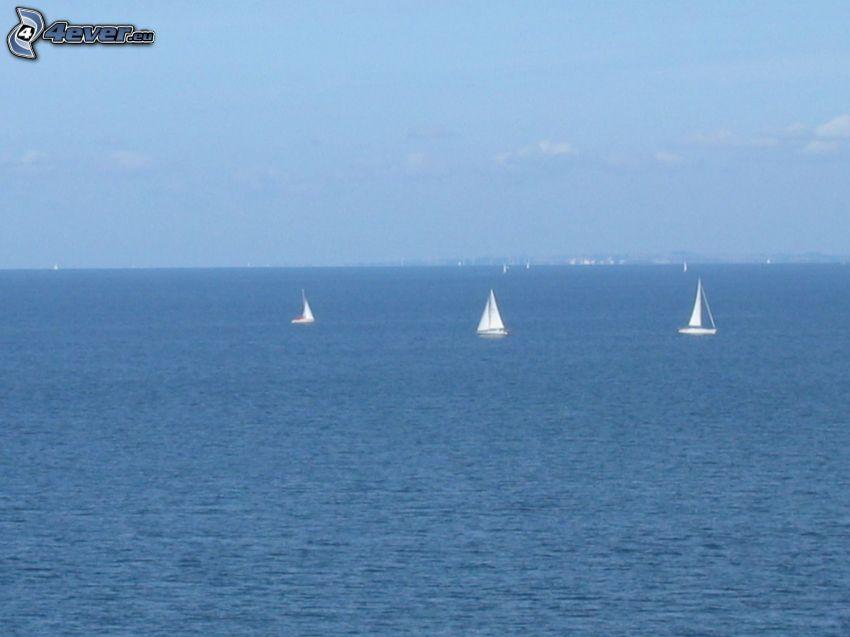 żaglowce, morze