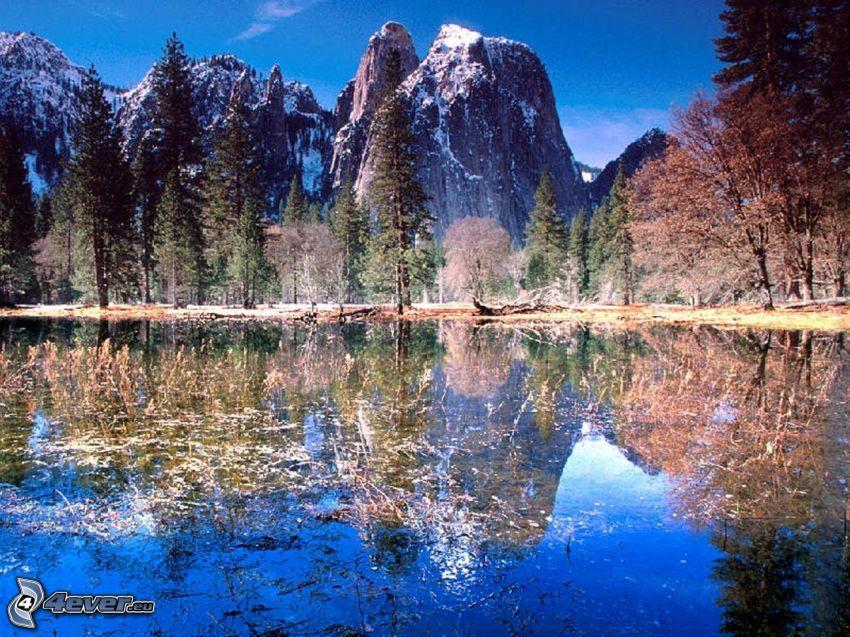 Park Narodowy Yosemite, jezioro