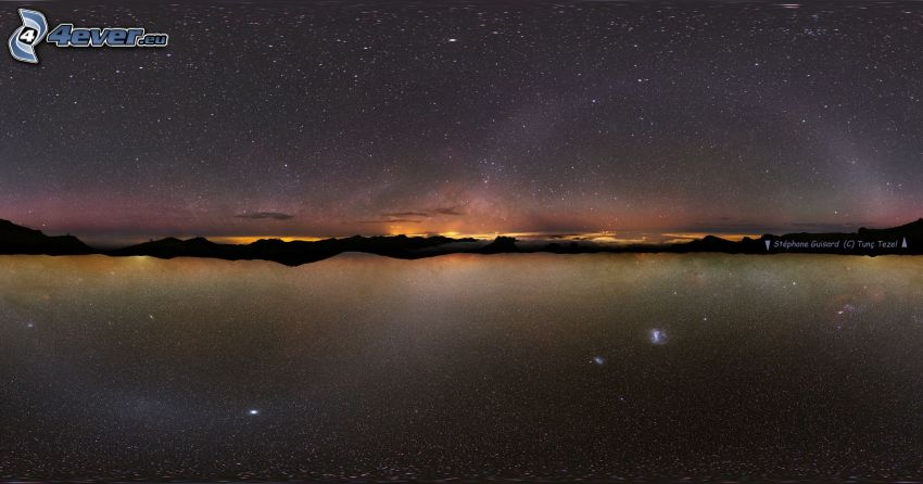 Droga Mleczna, galaktyka, horyzont