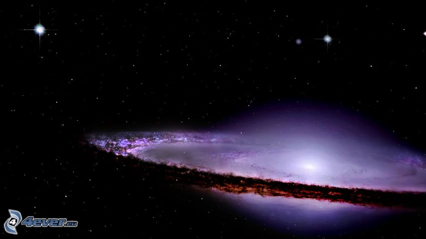 Galaktyka Sombrero, gwiazdy
