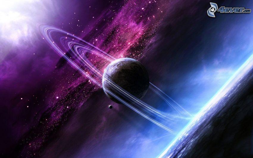 planeta, wszechświat