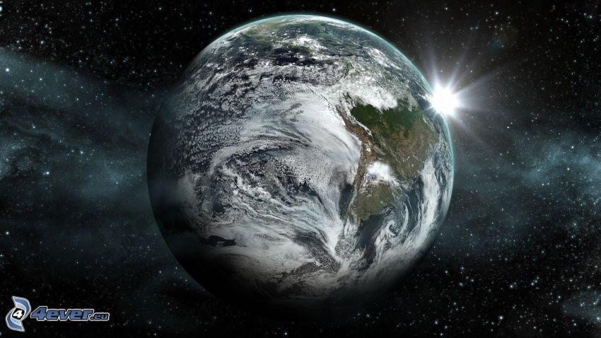 Słońce za Ziemią, gwiazdy