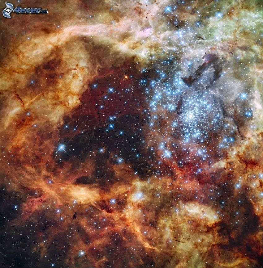 wszechświat, mgławice, gwiazdy