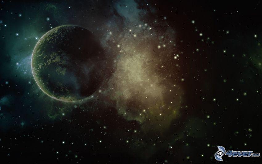 Ziemia, gwiazdy