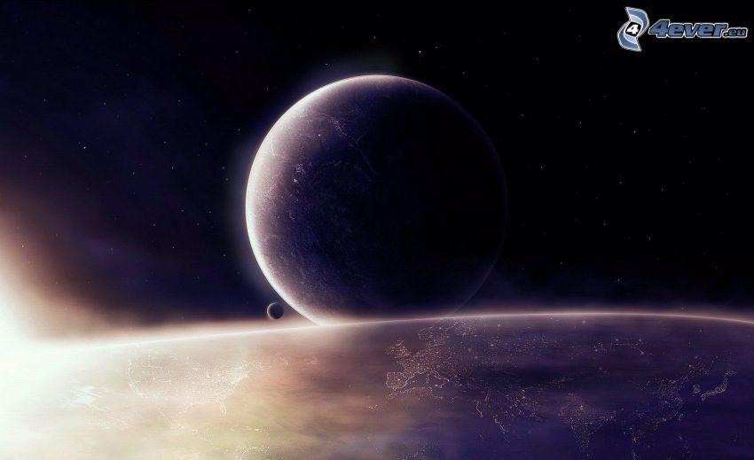 Ziemia, księżyc