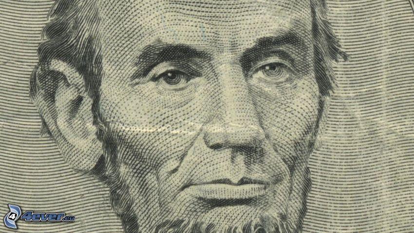 Abraham Lincoln, dolar, banknot