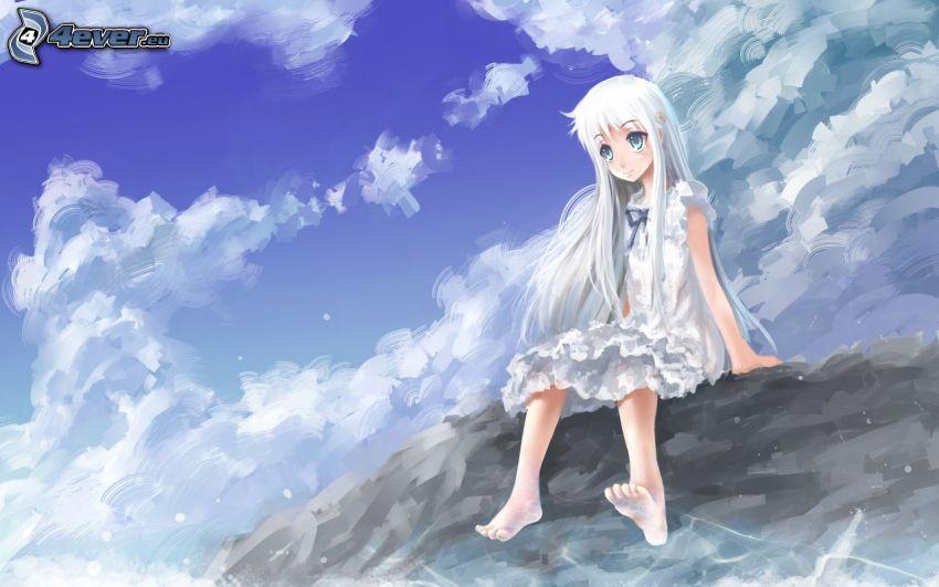 animacyjna dziewczyna