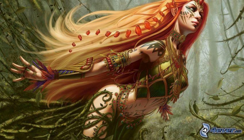 kobieta z, fantazji