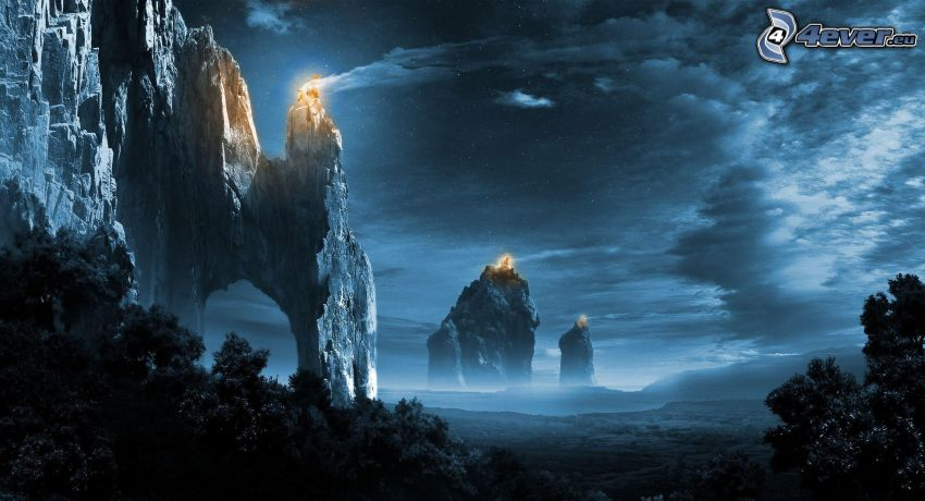 skały, fantastyczne