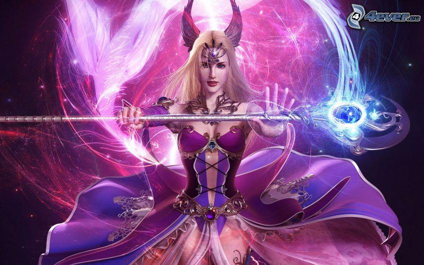 wojowniczka z fantazji