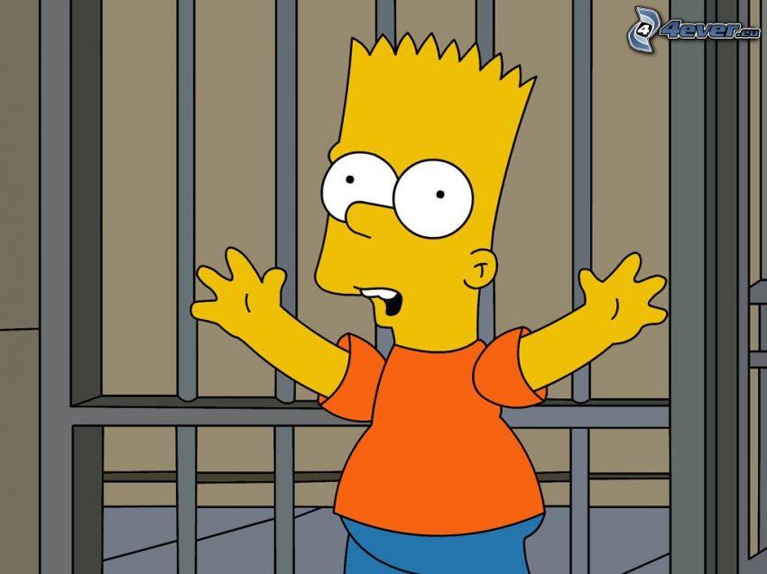 Bart Simpson, więzienie