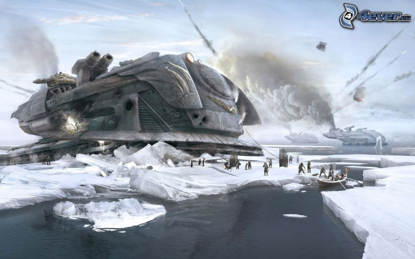 biegun północny, kraina fantazji