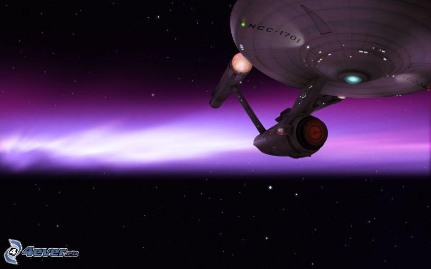 Enterprise, Star Trek, wszechświat